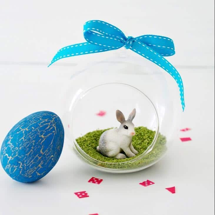 Easter Bunny Terrarium