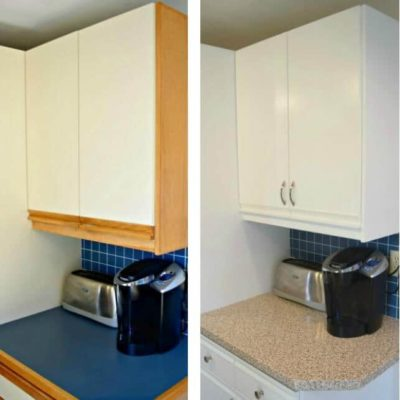 Tips for Updating 80's Kitchen Cabinets