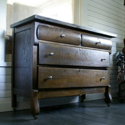 The old dresser from nowhere gets a face lift!