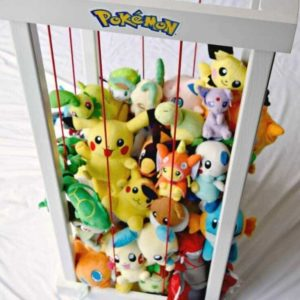 DIY Pokemon Center [or Stuffed Animal Zoo]