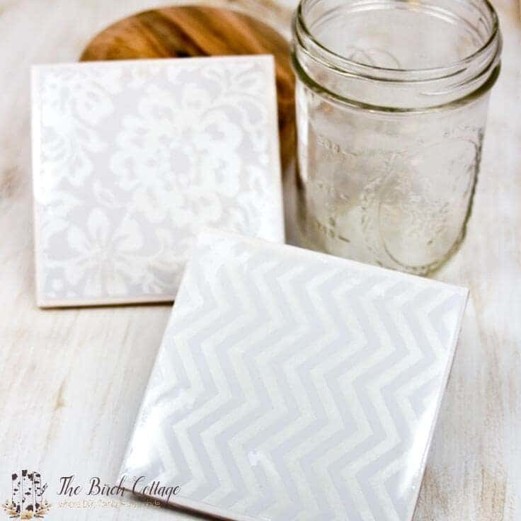 How to Make Coasters from Ceramic Tiles - Easy DIY Tutorial