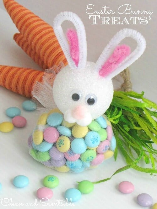 Easter Bunny Treats - Clean and Scentsible - Easter Treats featured on Kenarry.com