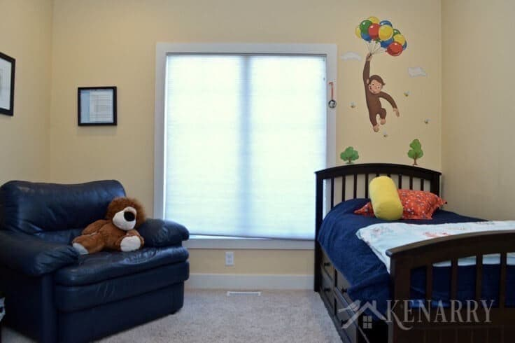 Boys Bedroom Plans Involve Removing The Curious George Decal And Painting Walls We