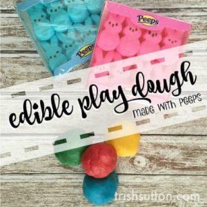 Edible Play Dough Made With Peeps