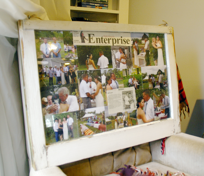 How to Create a Picture Frame From An Old Window