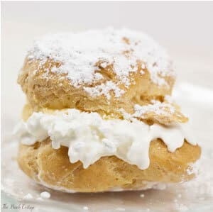 Make this delightful cream puffs recipe by The Birch Cottage.