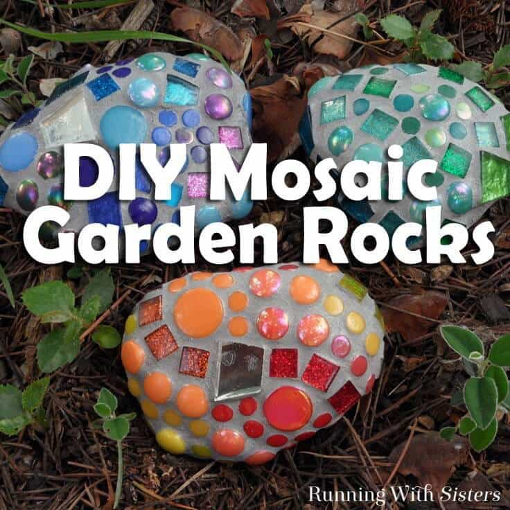 Mosaic garden rocks how to make garden mosaics solutioingenieria Gallery