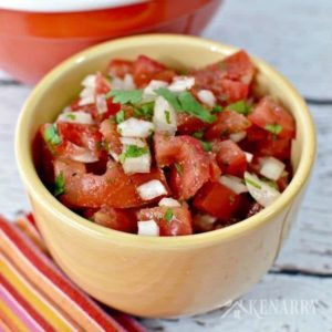 Homemade Pico de Gallo Recipe: Easy Appetizer Idea