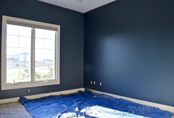 Creating An Outer E Boys Bedroom Starts With A Huge Galactic Change In Paint Color