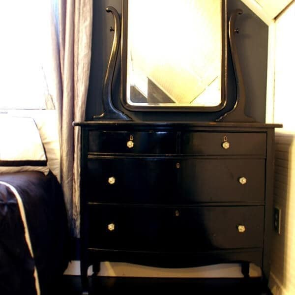 How to create a stunning black dresser