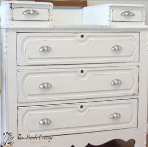 The Birch Cottage Shares How to Refinish a Dresser with Chalk Paint