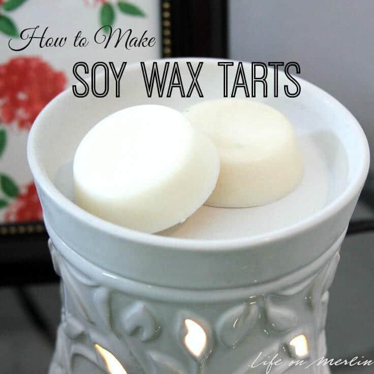 How to make soy wax tarts