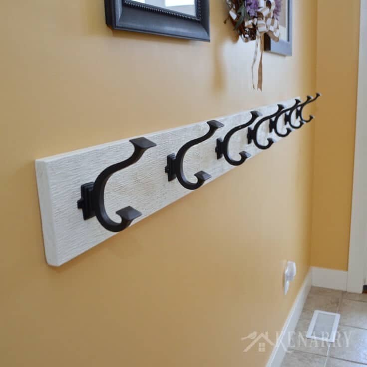Coat Rack An Easy WallMounted Idea With Hooks Cool How To Mount A Coat Rack On The Wall