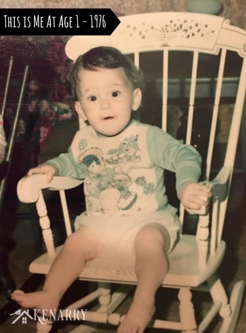Me and my rocker, 1976