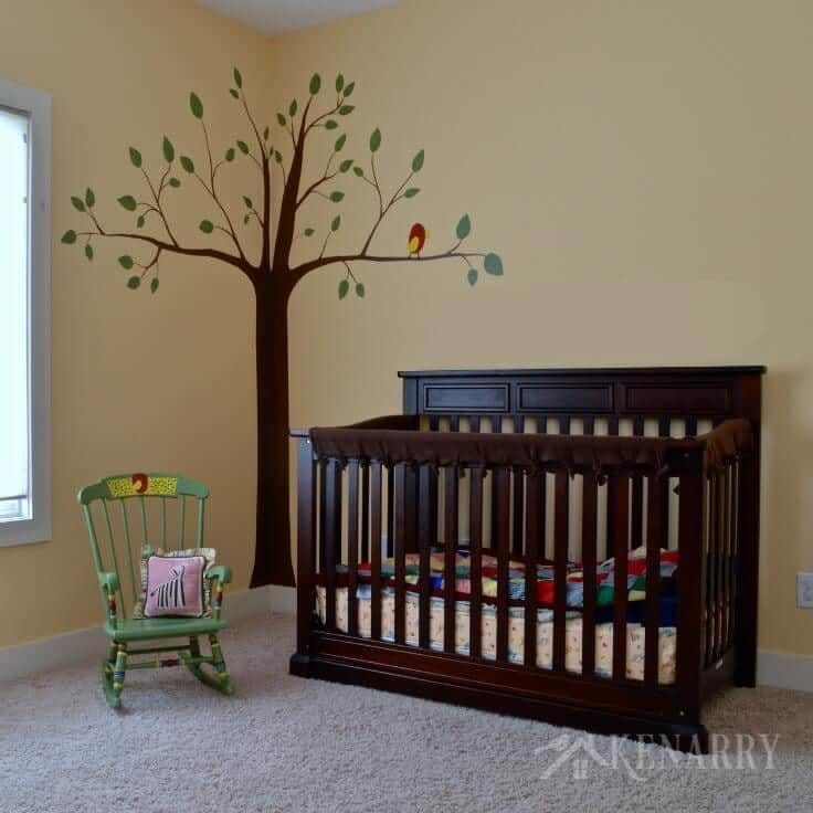 Colorful Nursery: Baby Nursery Idea: A Colorful Alphabet Theme