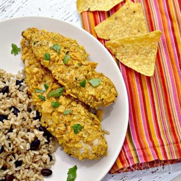 Tortilla Crusted Chicken Recipe: A Delicious Dinner Idea