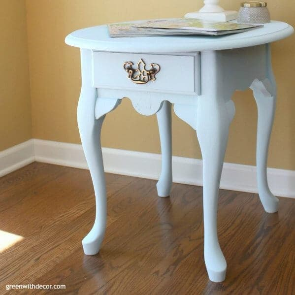 a DIY home project - Queen Anne night table