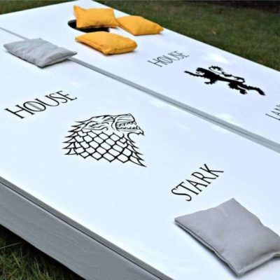 Make your own Game of Thrones Cornhole Game
