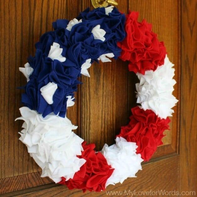 4th Of July Wreaths: 10 Patriotic Ideas for Door Decor