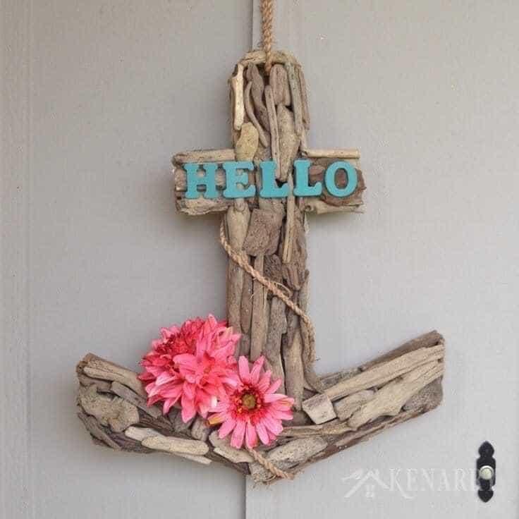 Anchor Wreath: A Nautical Decor Idea for Summer