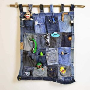 Denim Pocket Organizer Tutorial