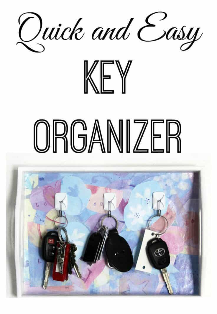 Quick and easy key organizer