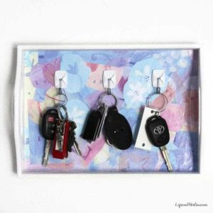 Key Holder Tutorial: A Quick, Easy Idea to Organize