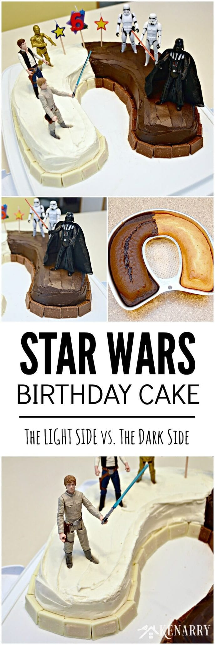 Star Wars Birthday Cake An Easy Idea And Party Supplies