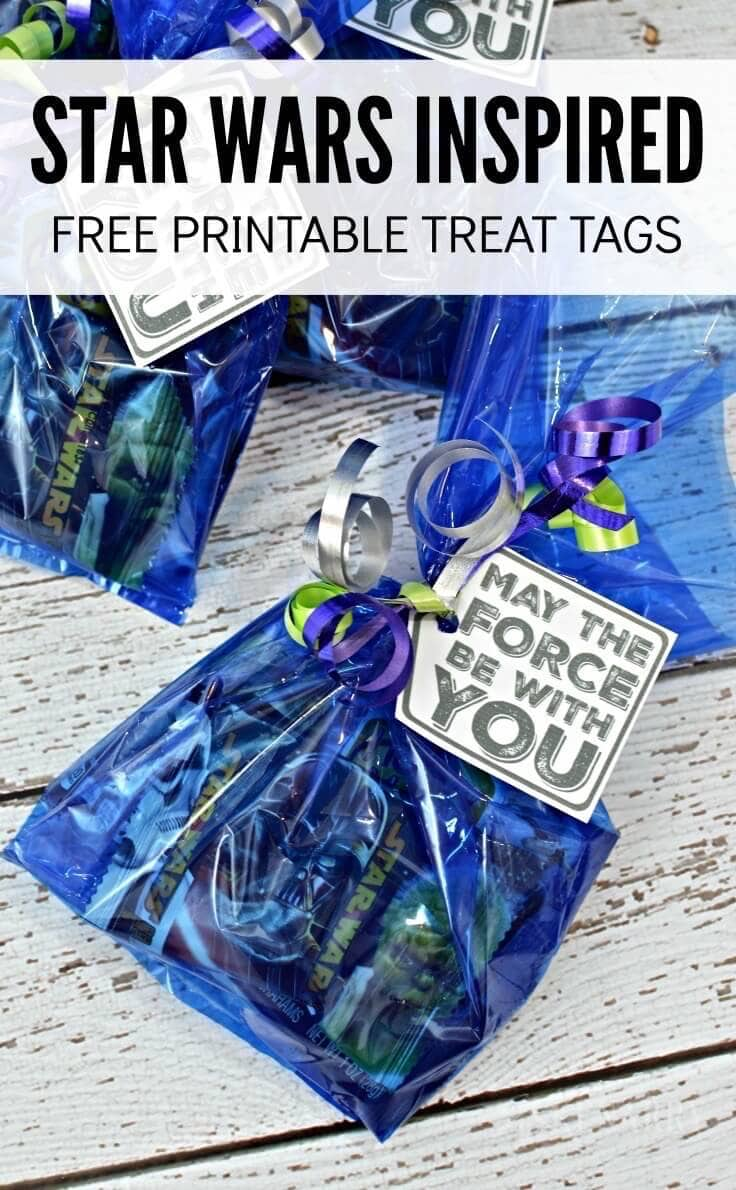 Star Wars Inspired Free Printable Treat Tags