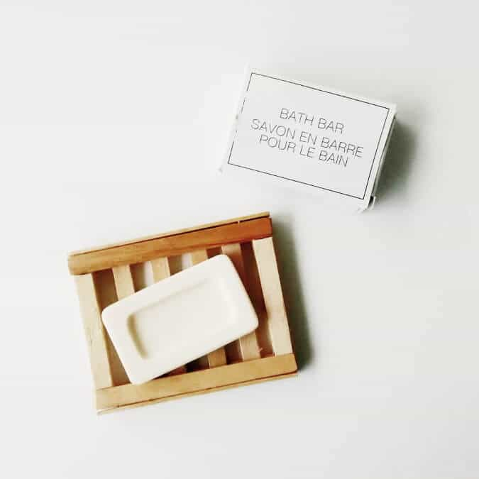 DIY Popsicle Stick Soap Dish