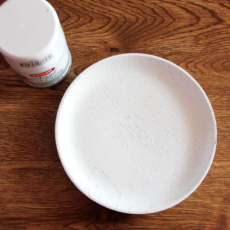 Trinket Dish Spray Painted
