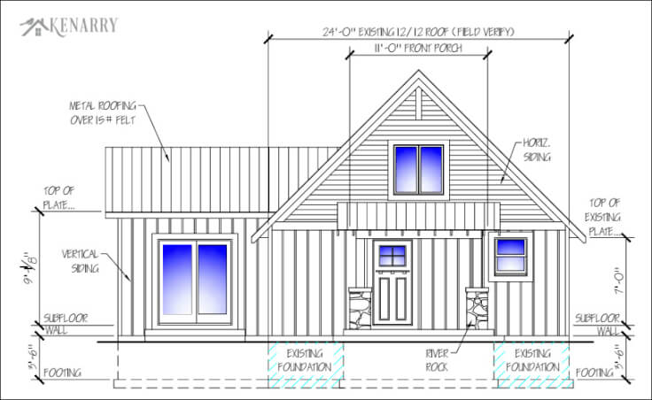 Cottage Renovations Front Porch And Sunroom Plans