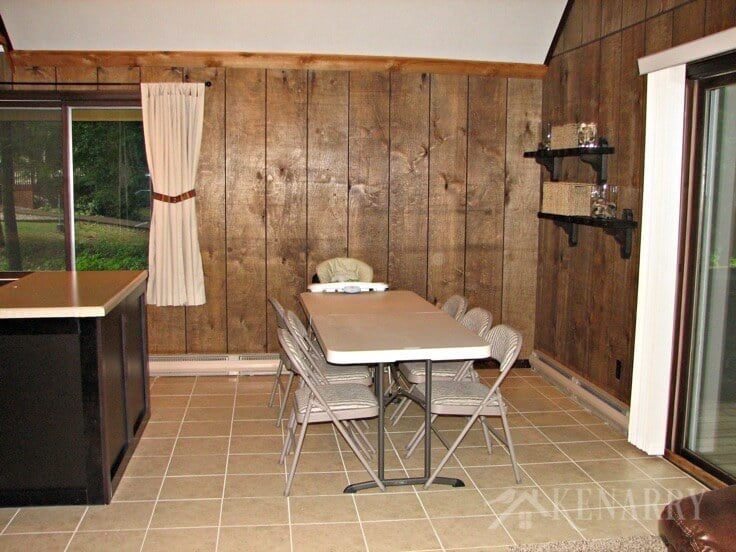 Wow! Here's how this cabin looks now after an extreme cottage makeover! I love seeing all the before/after photos as well as a video tour showing how this little home on a river has been transformed.
