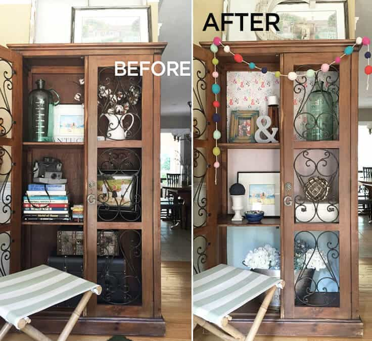 greco design_cabinet before after