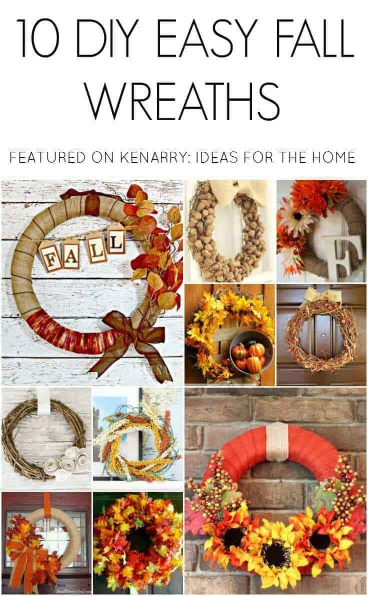 10 Easy DIY Wreaths