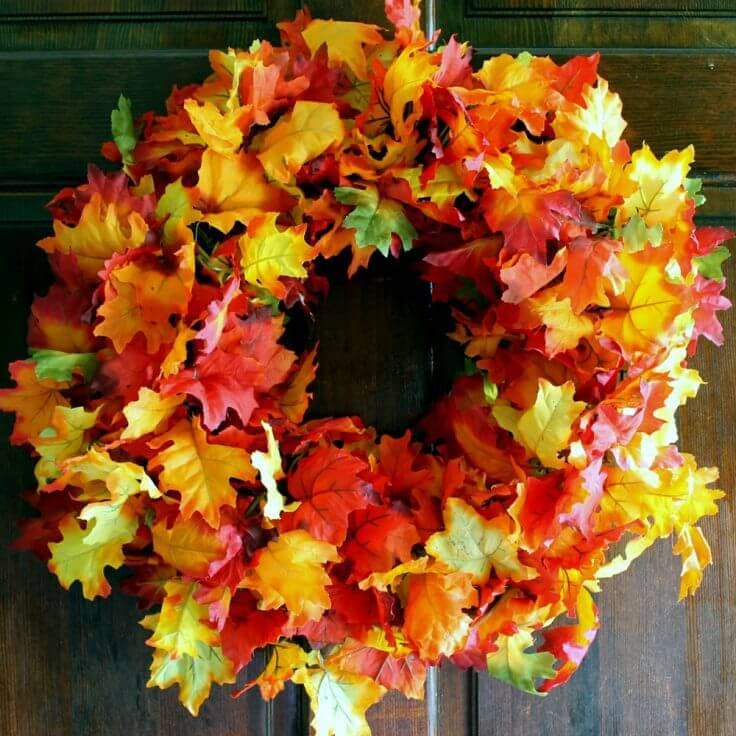 DIY Easy Fall Wreaths: 10 Great Seasonal Decor Ideas