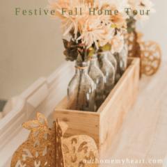 Festive Fall Home Tour - Part 1