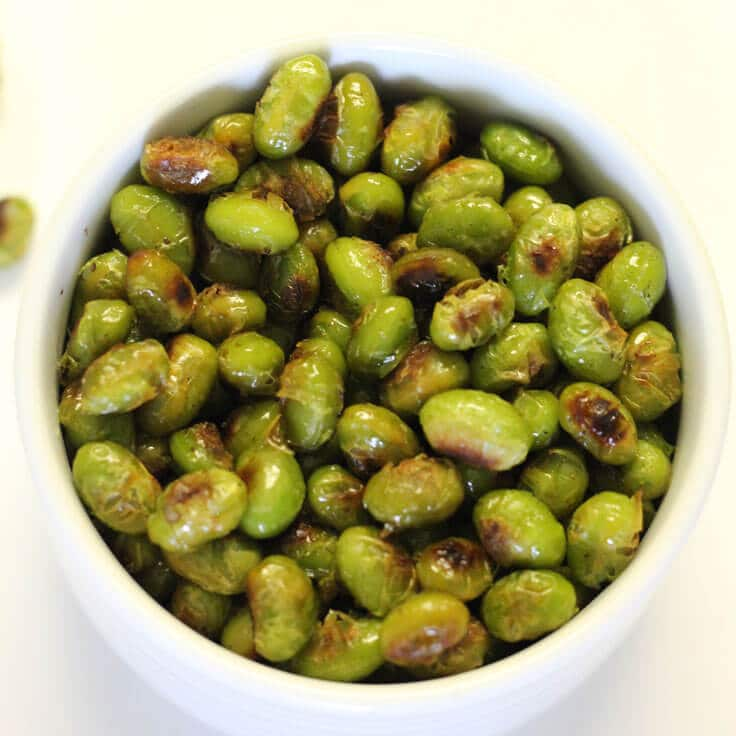 How to Make Quick and Easy Roasted Edamame