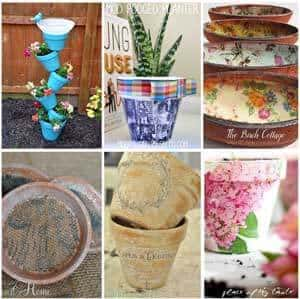 DIY TERRA COTTA POT IDEAS