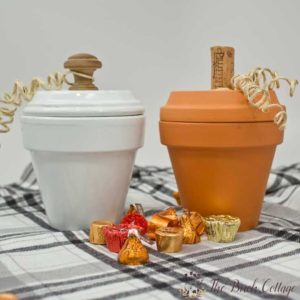 Pumpkin Candy Dishes from Terra Cotta Pots