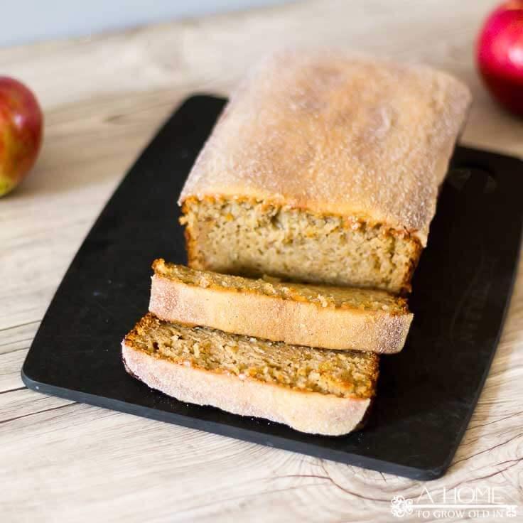 New England Apple Cider Donut Bread Recipe