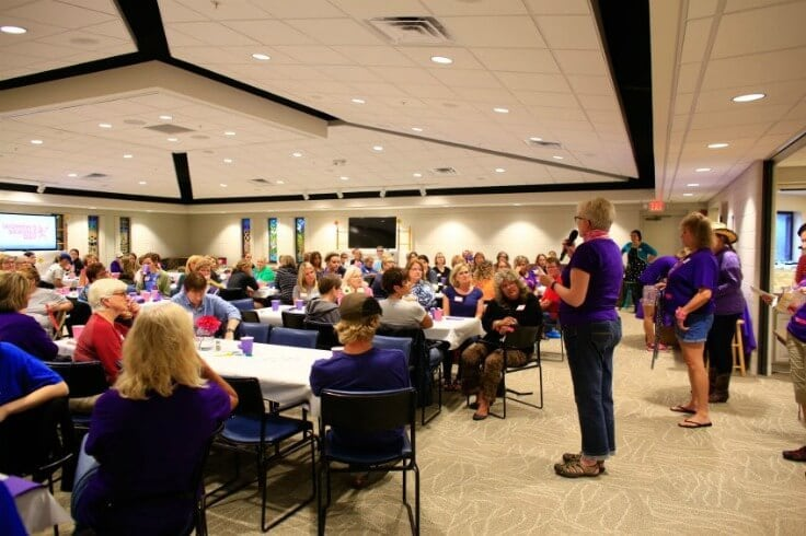 Women's Service Day luncheon - 15th anniversary on October 6, 2016