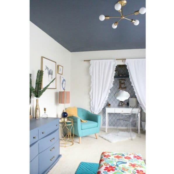 Colorful Modern Teen Bedroom