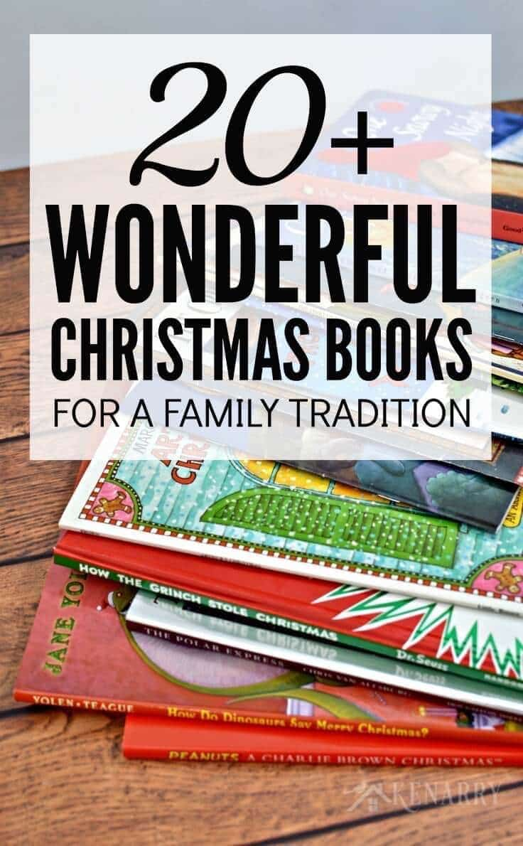 Great idea! Read one of your favorite Christmas books to your kids each night during the holiday season as a special family tradition. This is a great list of children's books to add to your collection!