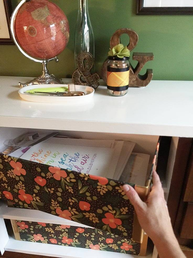 greco-design-box_pull-box-out & How to Make Pretty Storage Boxes for Organization