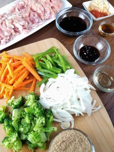 Sesame Chicken Stir Fry by Rachel Groff 6