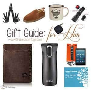 Christmas Gift Guide for all those hard to buy for men on your holiday shopping list!