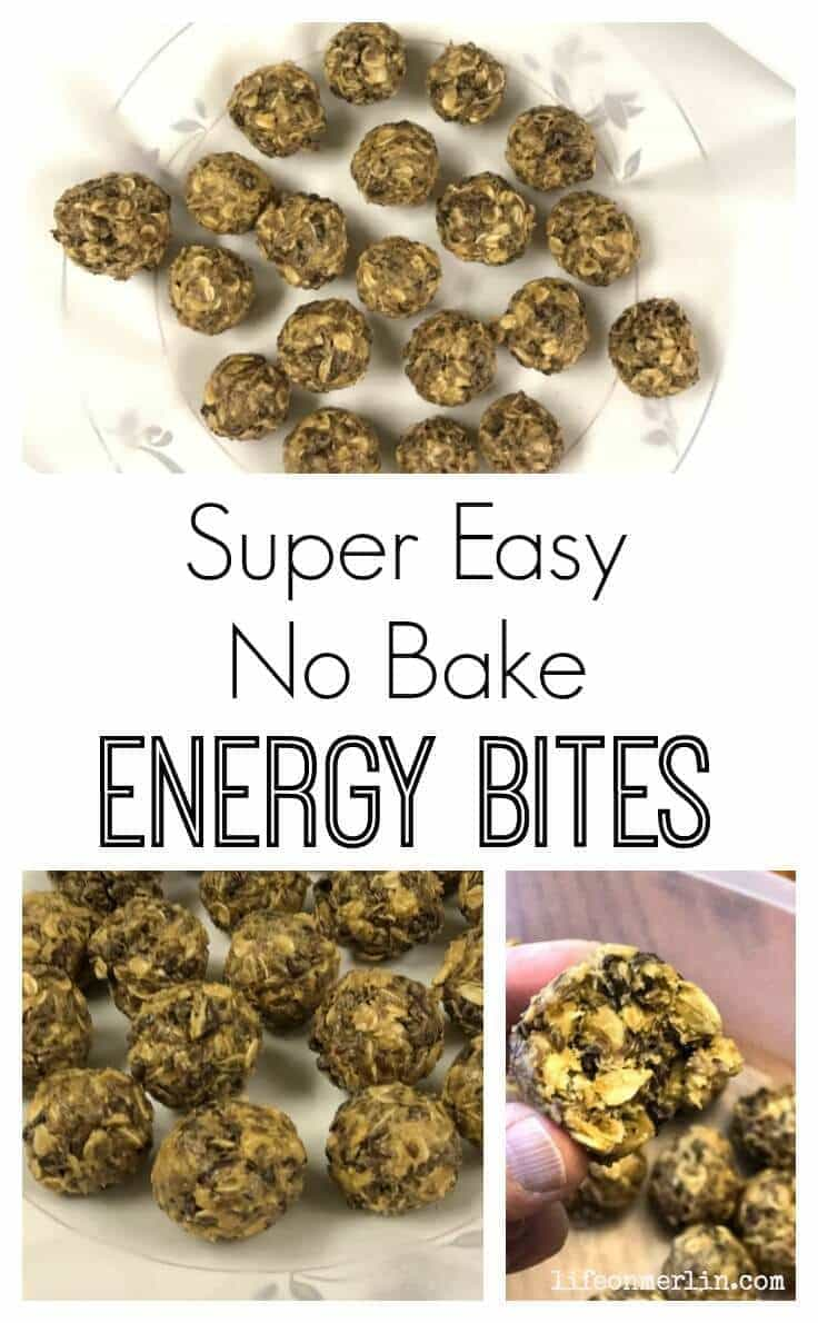 Easy No Bake Energy Bites