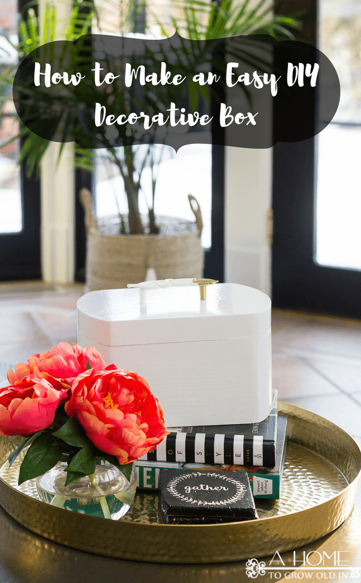 Decorative Box An Easy And Beautiful Diy For Small Storage