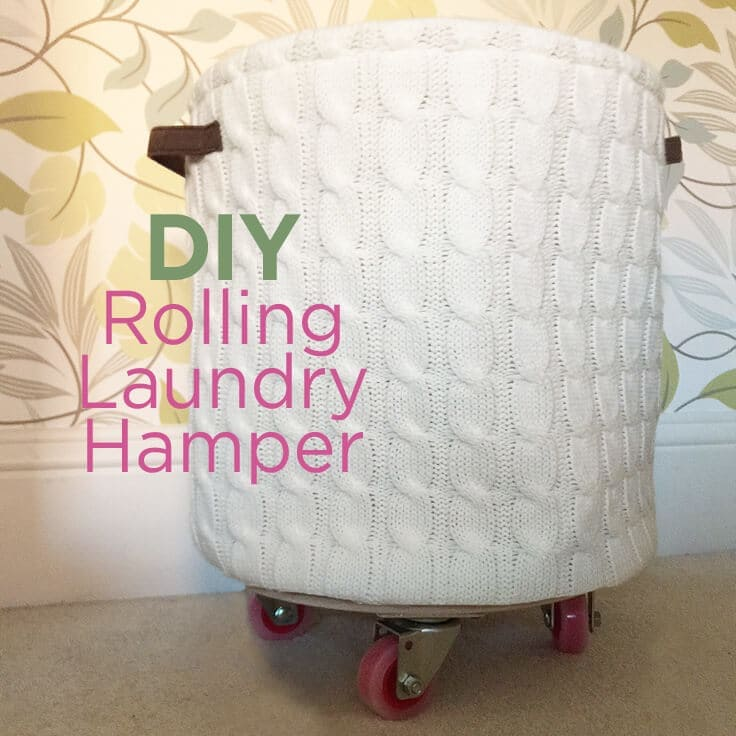 Diy rolling laundry hamper tutorial an easy organizing idea rolling laundry hamper solutioingenieria Choice Image